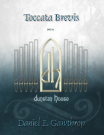 Toccata Brevis for organ - Click Image to Close