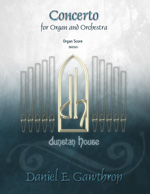 Concerto for Organ and Orchestra - Click Image to Close