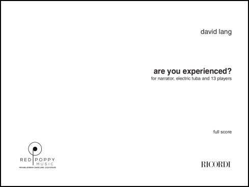are you experienced? for large ensemble & tuba solo