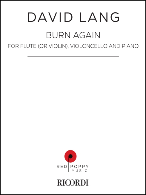 burn notice for flute violoncello and piano (or violin, violoncello and piano)