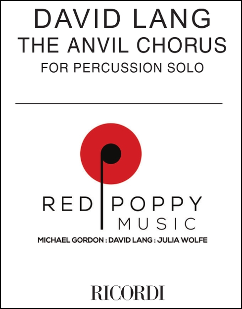 Anvil Chorus, The for Percussion Solo