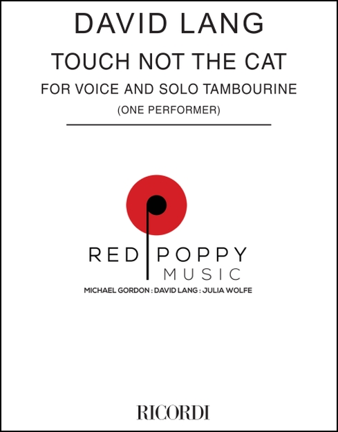 Touch not the cat for Voice & Tambourine (1 performer)