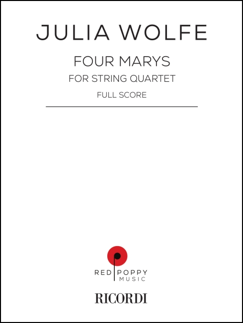 Four Marys for string quartet