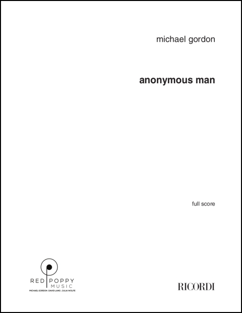 Anonymous Man for Choir SATB