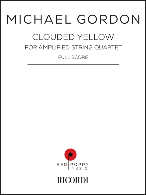 Clouded Yellow for string quartet