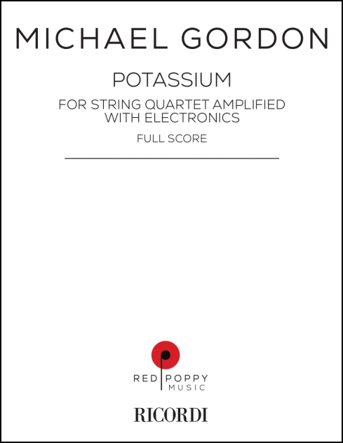 Potassium for string quartet and electronics