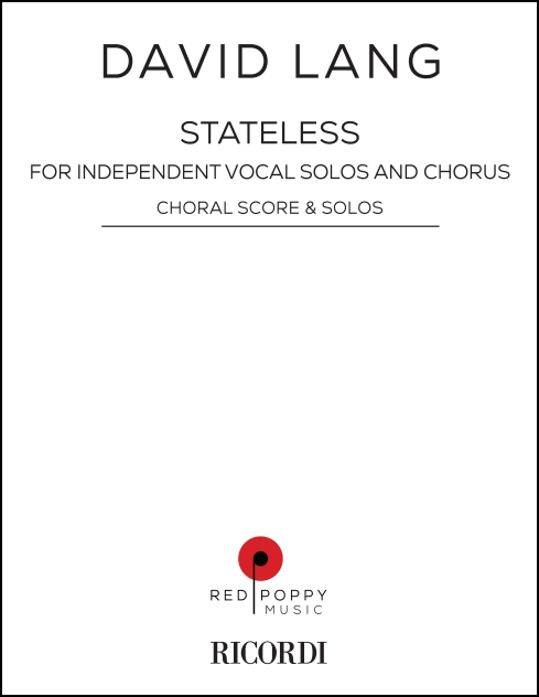stateless for Independent Vocal Solos & Chorus