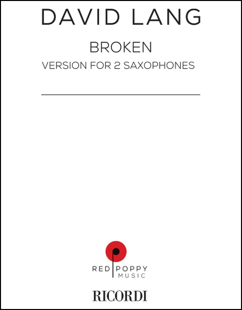 Broken for 2 Saxophones