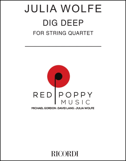 Dig Deep (set of parts) for String Quartet