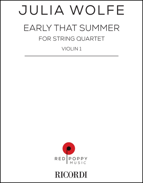 Early That Summer (set of parts) for String Quartet