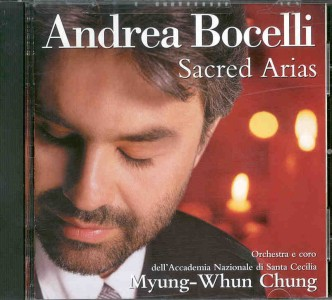 Andrea Bocelli: Sacred Arias [CD] - Click Image to Close