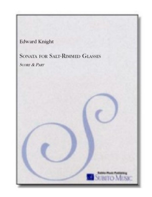 Sonata Through Salt-Rimmed Glasses for trumpet/flugelhorn & piano