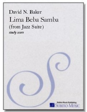 Lima Beba Samba (from Jazz Suite ) for chamber orchestra & rhythm section