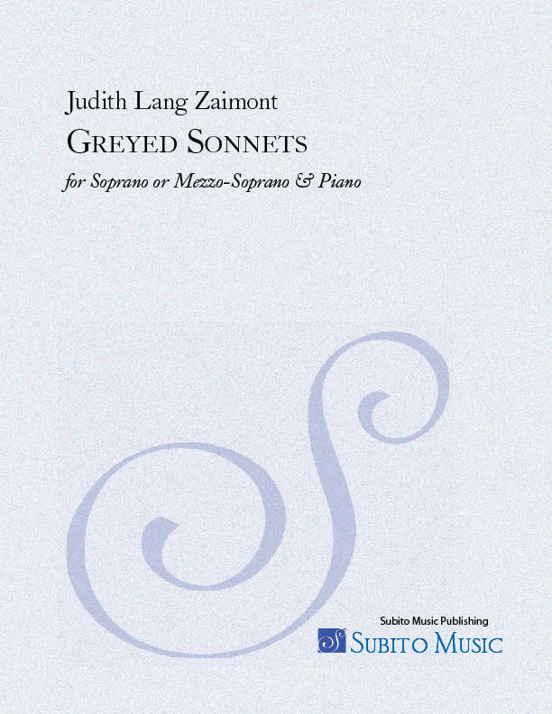Greyed Sonnets for Soprano & Piano