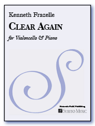 Clear Again for cello & piano