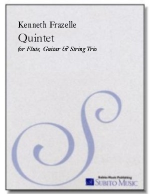 Quintet for flute, guitar & string trio