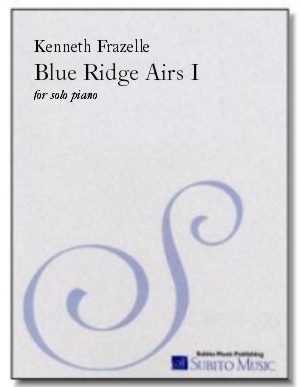 Blue Ridge Airs I for piano