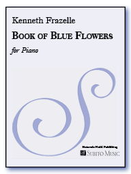 Book of Blue Flowers for Piano