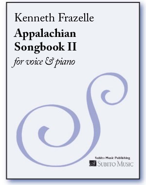 Appalachian Songbook II for voice & piano