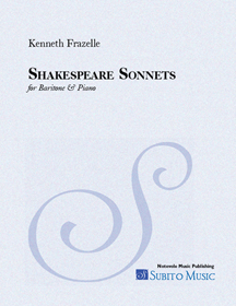 Shakespeare Sonnets for Baritone & Piano