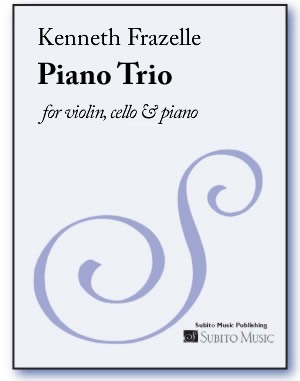 Piano Trio for violin, cello & piano