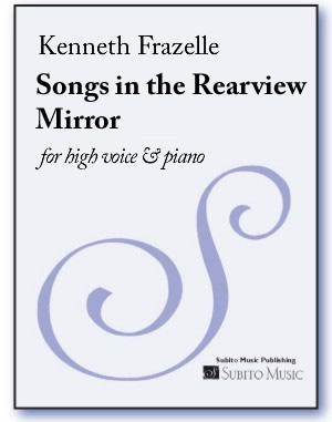 Songs in the Rearview Mirror for low voice & piano