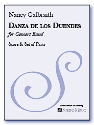 Danza de los Duendes for concert band