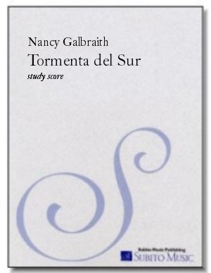 Tormenta del Sur for symphony orchestra or chamber orchestra