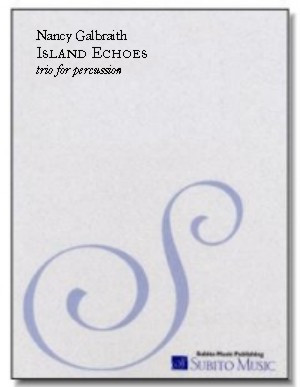 Island Echoes for percussion trio