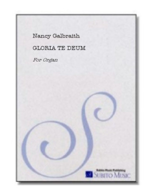 Gloria Te Deum for organ