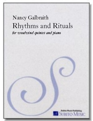 Rhythms and Rituals for piano & woodwind quintet