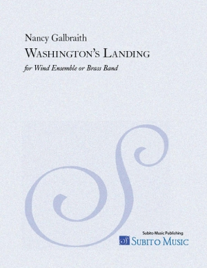 Washington's Landing for wind ensemble or brass band