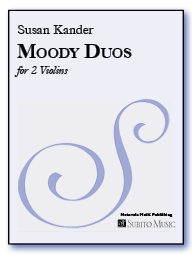 Moody Duos six polytonal miniatures for two violins