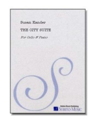 City Suite, A for cello & piano
