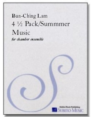 4 ½ Pack/Summmer Music for chamber ensemble