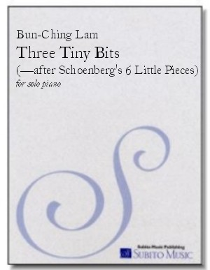 Three Tiny Bits (after Schoenberg's 6 Little Pieces) for piano
