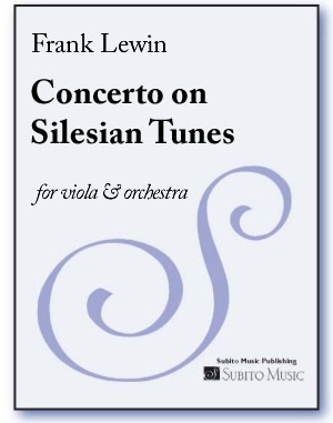 Concerto on Silesian Tunes for viola & orchestra