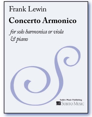 Concerto Armonico for harmonica (or viola) & piano