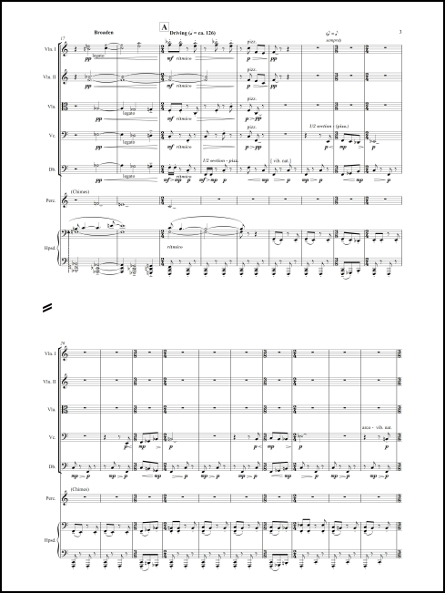 Concerto Grosso for harpsichord, percussion & strings