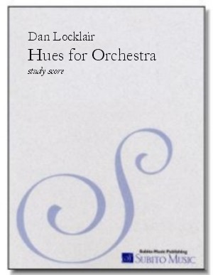 HUES three brief tone poems for orchestra