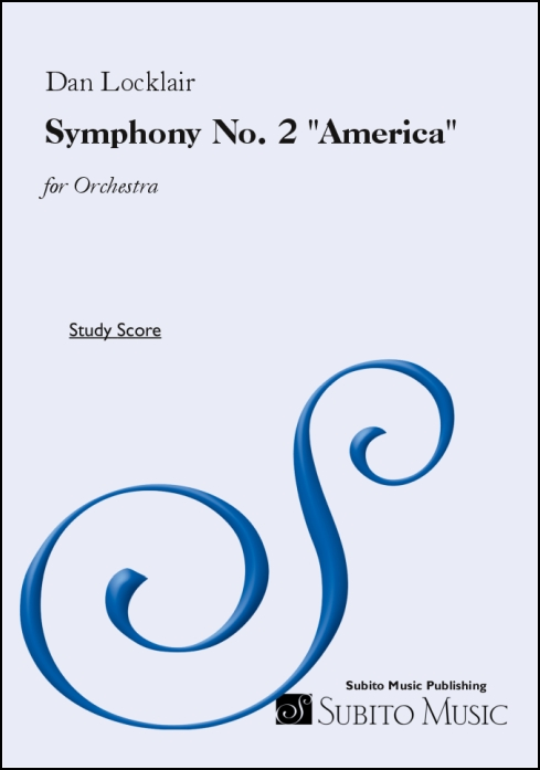 "Symphony No. 2 ""America"" for Orchestra"