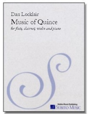 Music of Quince tone poem for flute, clarinet, violin & piano
