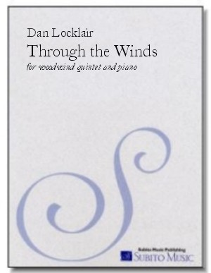 Through the Winds sextet for woodwind quintet & piano