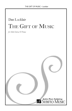 Gift of Music, The for SSA chorus & piano