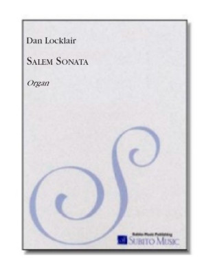 Salem Sonata for organ
