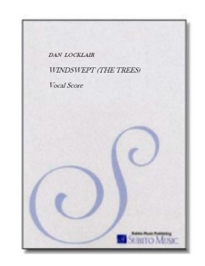 Windswept (the trees) choral cycle in nine movements for SATB, woodwind quintet & piano
