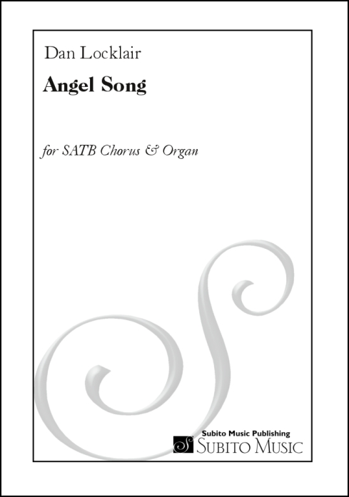Angel Song for SATB Chorus & Organ