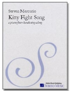 Kitty Fight Song a piano four-hands sing-along
