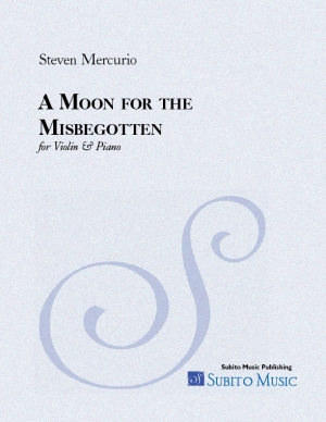 Moon for the Misbegotten, A for violin & piano