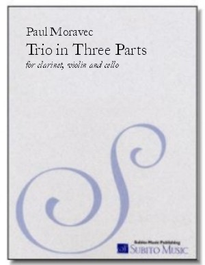 Trio in Three Parts for clarinet, violin & cello